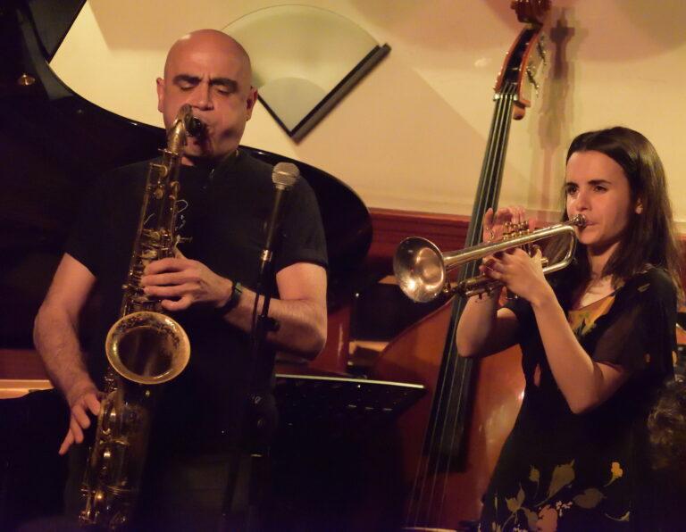 Andrea Motis & Joan Chamorro meet Gabriel Suárez Jazz Singer
