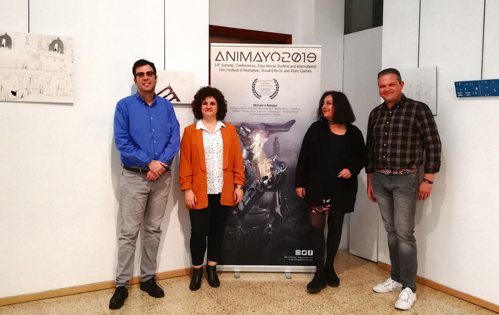 Animayo Lanzarote 2020, presentación con Alberto Aguiar, Nazareth Lezcano, Camino Marcos y Alfredo Mendoza