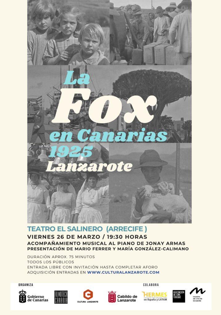 La Fox en Canarias 1925 (Lanzarote)