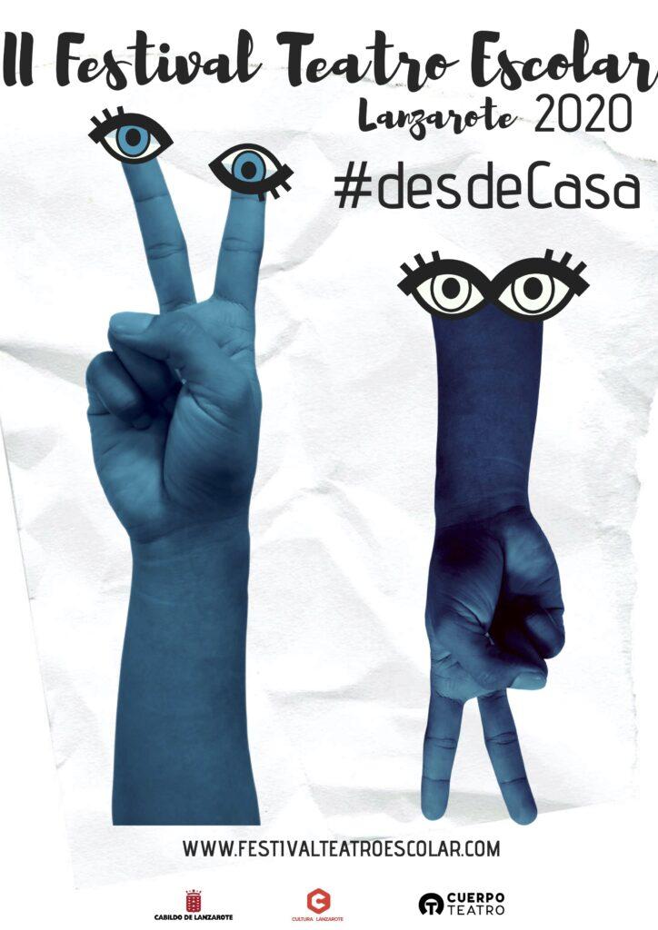 II Festival Teatro Escolar cartel