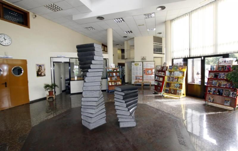 Interior de la Biblioteca Insular de Lanzarote