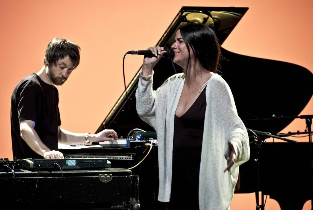 Lina y Raül Refree, foto de Orlando Almeida