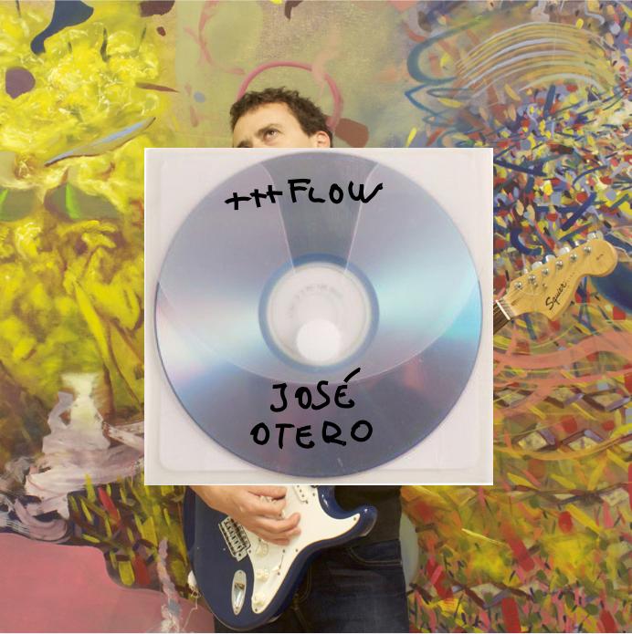 Portada catálogo exposición +++ Flow, de José Otero,