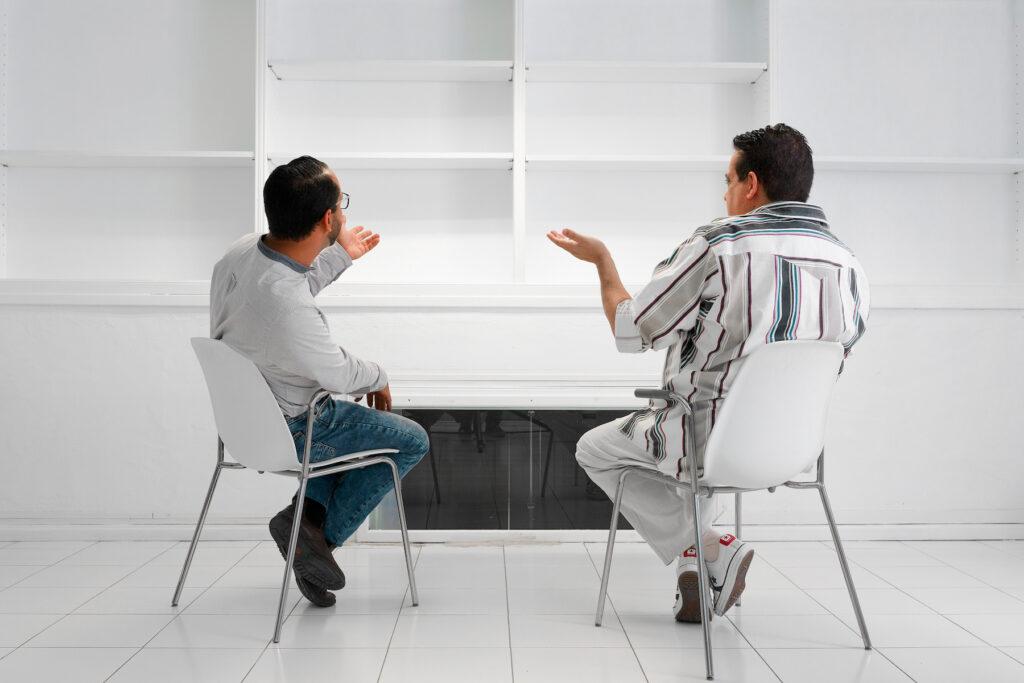 Zeben y Pepe_Conversación_El Almacén.