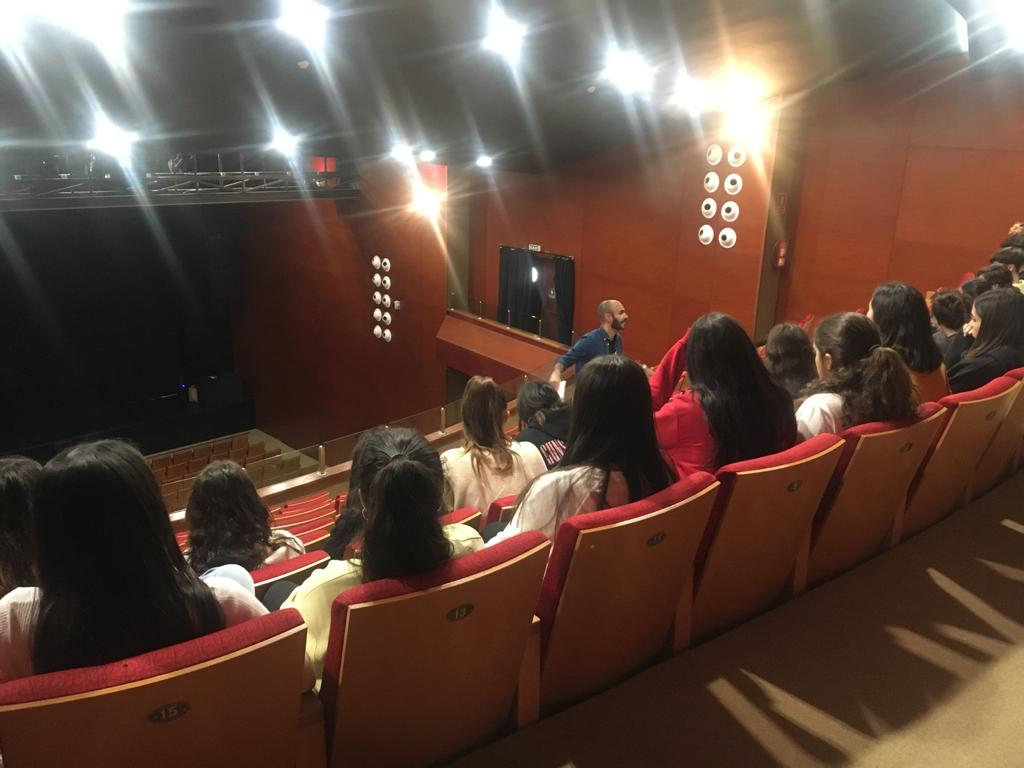 visitas escolares 2º Festival de Teatro Escolar de Lanzarote